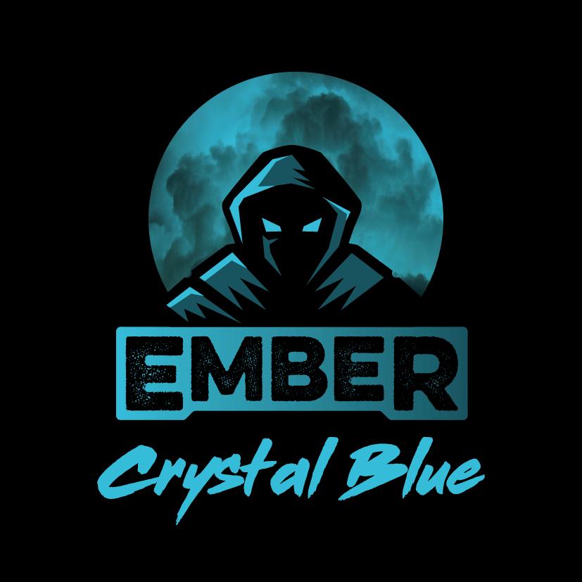 Crystal Blue Ember Flavours Logo