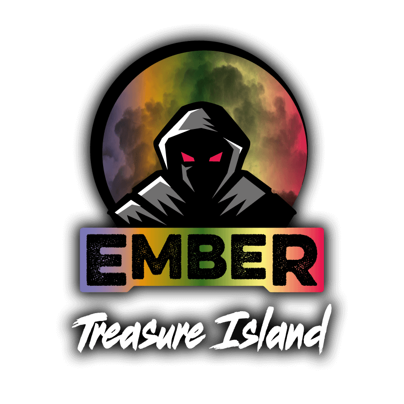Treasure Island Ember Flavours Logo
